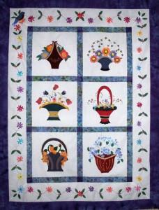 Wool Baskets and Silk Ribbon